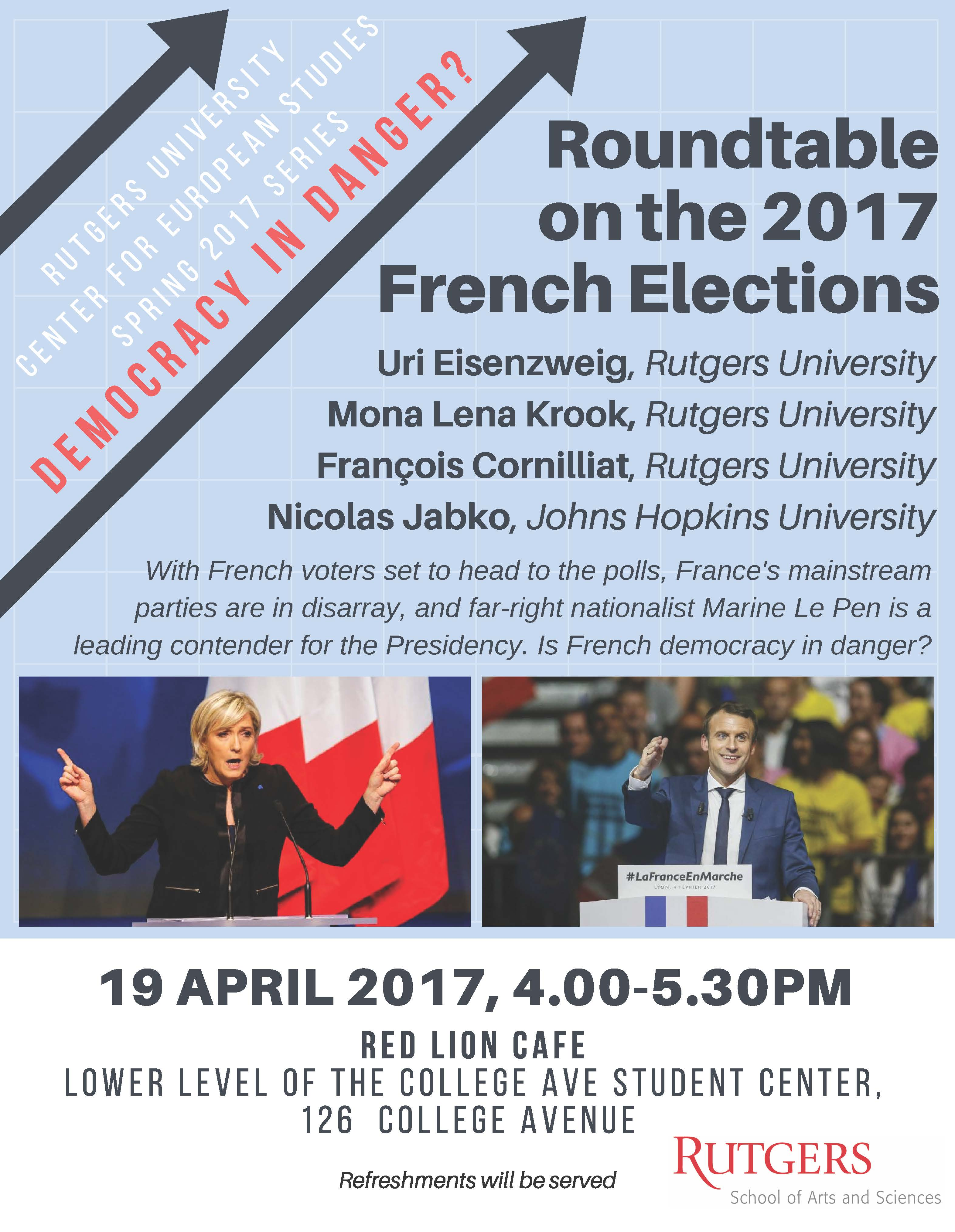 French election roundtable 4 19 17