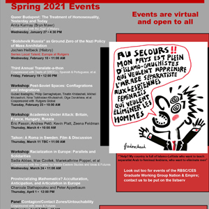 CES Semester Events Poster Spg 21 crop